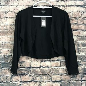 NWT Black City Chic Cardigan in Women's Small